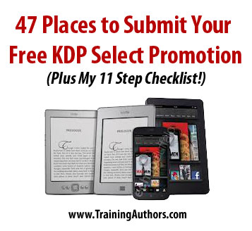 Places to submit your free KDP select promotion
