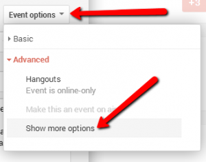 Add YouTube URL to event