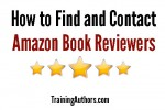 How to Find and Contact Amazon Book Reviewers
