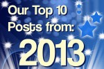 Top 10 Blog Posts from 2013