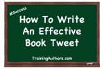 How To Write An Effective Book Tweet