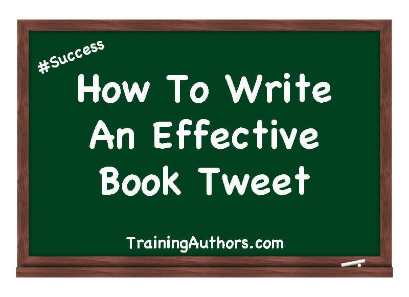 How To Write An Effective Book Tweet