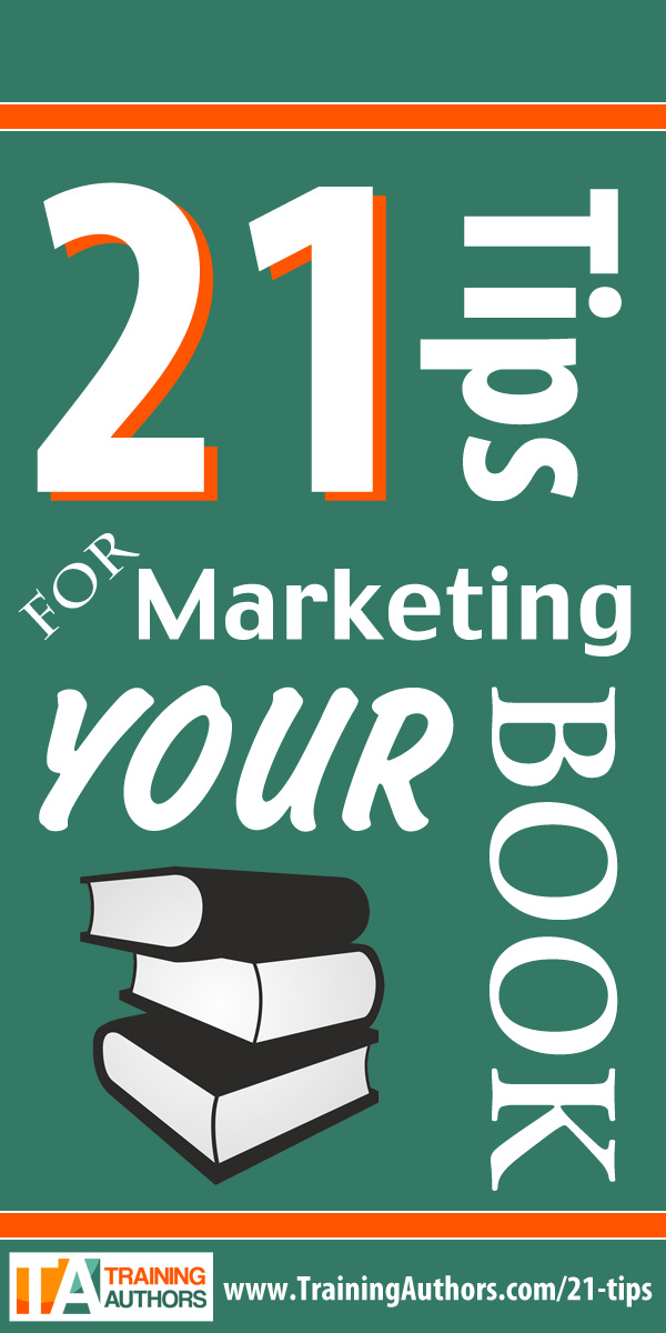 21 Book Marketing Tips