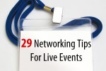 29 Networking Tips for Live Events