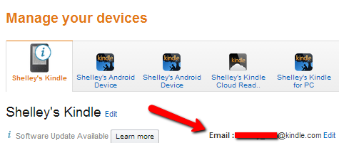 How to Send a Kindle MOBI Review Copy Directly to a Kindle Device