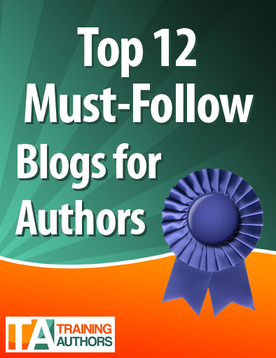 If you are an author, you need to be following these 12 blogs: http://www.trainingauthors.com/12-must-follow-blogs-for-authors/