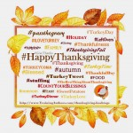 60+ Thanksgiving Hashtags