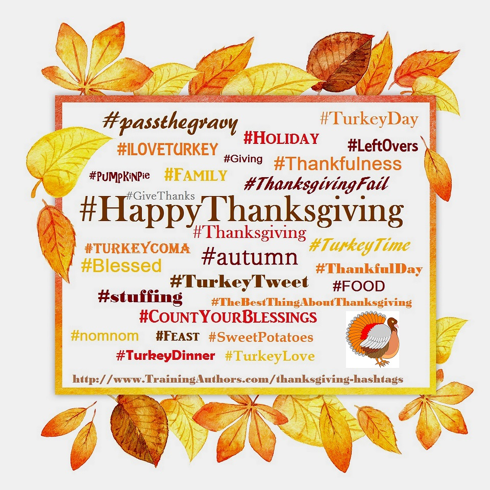 Thanksgiving-Hashtags