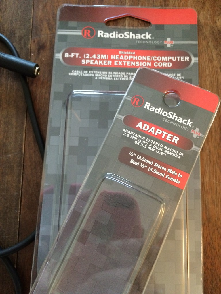 iPhone microphone adapter