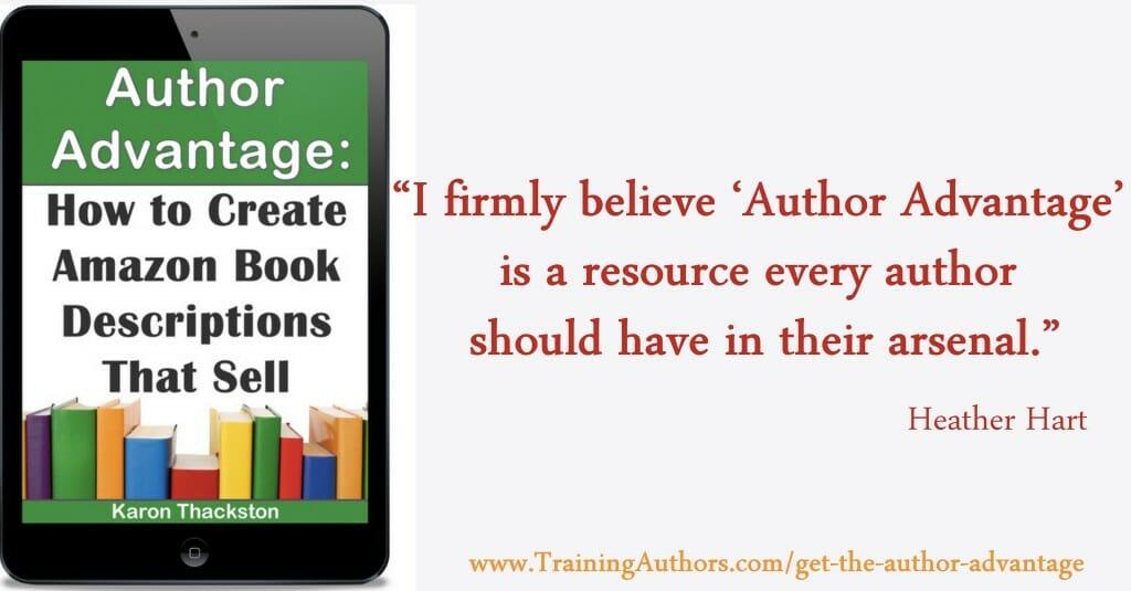 Author Advantage Review Quote