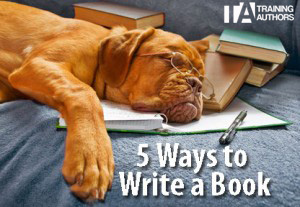 5-ways-write-book