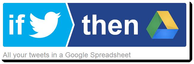 IFTTT-twitter-google-drive