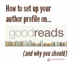 goodreads author profile