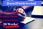 finish book in 26 weeks
