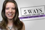 5 Ways Authors Can Use the FREE Software OBS