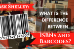 difference between ISBN and barcodes