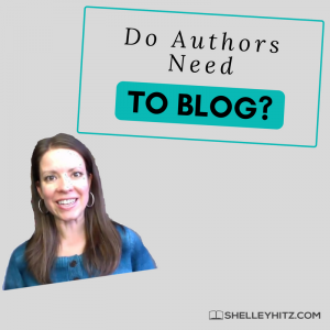 do authors need to blog