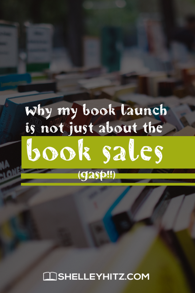 book launch and book sales