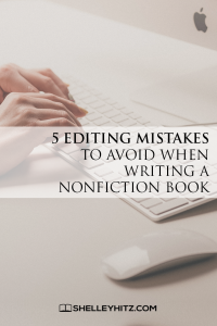 editing mistakes to avoid