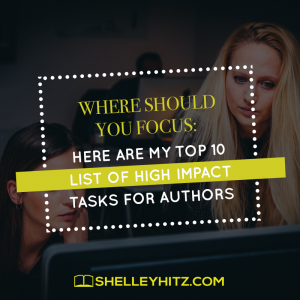 high impact tasks for authors