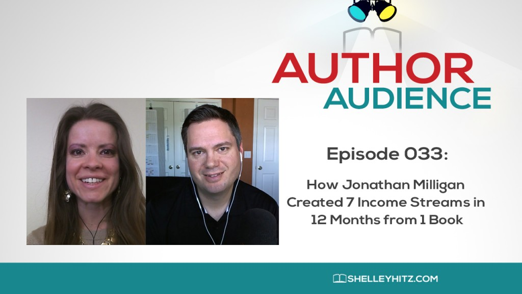 Want to learn how Jonathan Milligan created 7 income streams in 12 months from 1 book? It's an amazing framework and a personal case study that works! Listen to this episode for the step-by-step plan you can model for your own books and business.
