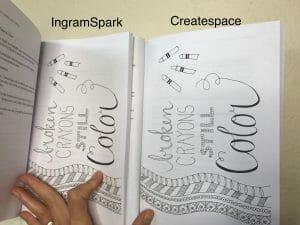 Using both ingram spark and createspace