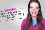 paid to create free lead magnet