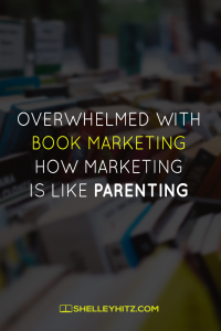 overwhelmed with book marketing