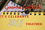 Let's Celebrate with Gratitude! A Practical Exercise for Year-End Review
