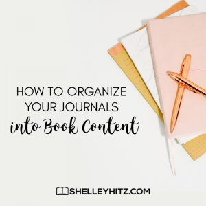 How to Organize Your Journals into Book Content